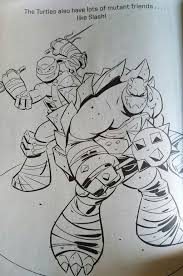 tmnt raph and slash coloring page by ninjaturtlefangirl on deviantart