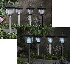 teardrop solar lights set of 4 free shipping today overstock