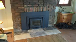 home decor fireplace insert installation commercial brick pizza