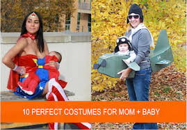 Mother Daughter Matching Halloween Costumes Mom Baby Halloween Costumes
