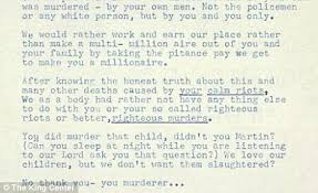 messages of to martin luther king jr revealed in 200 000