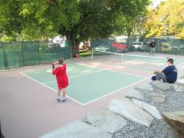 Backyard Tennis Courts Beautiful Backyard Pickleball Court
