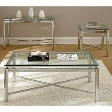 Metal Entry Table Modern Chrome Tempered Glass Top Sofa Entry Table Console