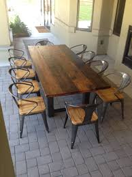 dining tables reclaimed wood round dining table restoration