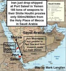 Mecca On Map Saudi Arabia And Nineteen Other Muslims Nations Are Making Full