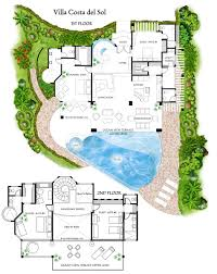 features and floor plans villa costa del sol bedroom sunset map global map