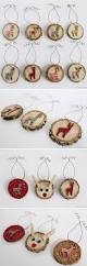 How To Make Adorable Wood Slice Christmas Ornaments Deer Wood Slice Ornaments Rustic Christmas