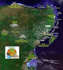 map attractions cancun attractions map riviera map of cancun attractions