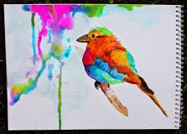 watercolor bird painting marcia beckett