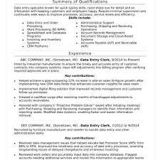 data entry resume resume sle data entry clerk best of data entry resume sle