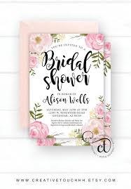 wedding shower floral bridal shower invitations floral bridal shower invitations