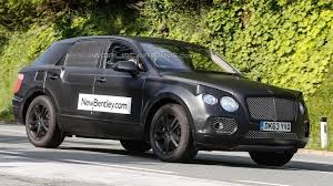 bentley suv 2016 bentley crossover spied up close