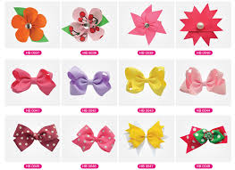 different types of hair bows chiffon hair bow children s hair bows wholesale hair bow buy