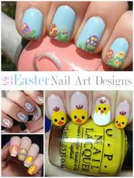 gelic nail art easter chicken funky french nail art my nail art