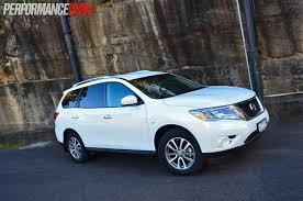 nissan truck 2014 2014 nissan pathfinder st review video performancedrive