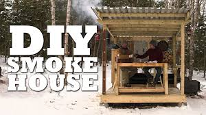 How To Make A Building Plan Free by How To Build A Smokehouse Youtube
