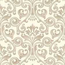 fine decor wentworth damask wallpaper black grey cream silver