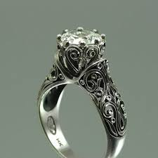 white sapphire wedding rings white sapphire engagement rings 2017 wedding ideas magazine