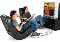 x video rocker pedestal 2 1 wireless sound gaming chair black