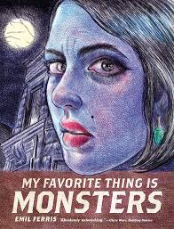 my favorite thing is monsters comics by comixology