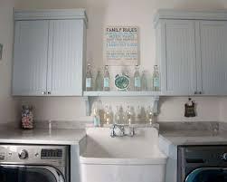 laundry room decor houzz