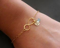 Infinity Bracelet With Initials Infinity Bracelet Sterling Silver Infinity Bracelet Infinity