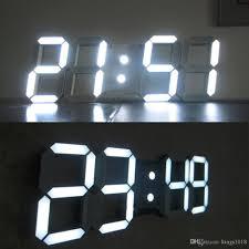 wondrous led wall clock 20 green led wall clock india ivation big