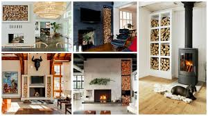 16 brilliant ideas how to create appealing firewood storage space