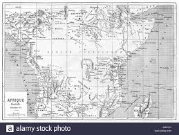 Map Of Central Africa by Old Map Of Central Africa Created By Vullemin Erhard And