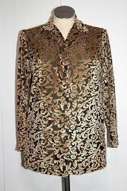 dvf blouse diane furstenberg gold brown dvf the color authority stretch
