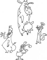cow and chicken n friends 2013 06 25 7 18 pm by godlyrapture on