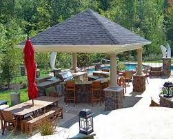 outdoor kitchen roof ideas covered outdoor kitchens plans for an outdoor kitchen