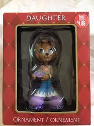 american greetings 2005 daughter christmas ornament new in box