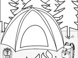camping colouring pages 73 camping coloring pages images