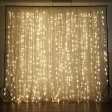 wedding backdrop material 600 sequential warm white led lights big wedding party photography