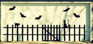 Door Decorations For Halloween How To Decorate Your Garage Door For Halloween