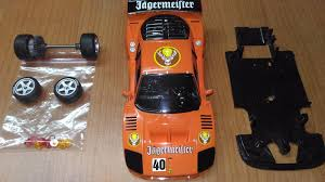 f40 parts f40 jagermeifter 1 32 fly slot car kit parts 162613261616