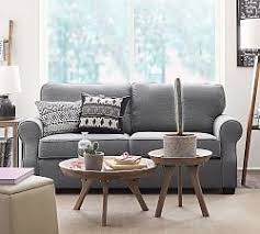 small space sofas pottery barn
