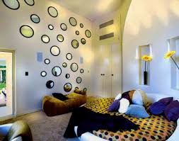 attractive wall decorating ideas for bedrooms about house decor