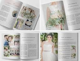 wedding magazine template wedding magazine template wedding welcome guide photography