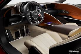 Lexus Lf Lc Concept Red U2013 Five Axis