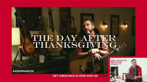 brandon heath the day after thanksgiving live