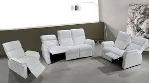 canape relax cuir blanc salon coplet design blanc relax clayton mobiliermoss salon