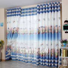 White And Navy Striped Curtains Navy Blue And White Striped Curtains