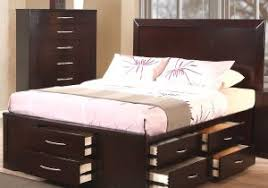 creative tall platform bed frame with storage cubbies idea of 10