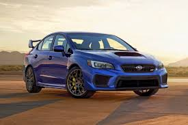 subaru wrx hatchback spoiler 2018 subaru wrx sti limited pricing for sale edmunds