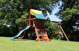 redwood swing sets high quality made in the usa backyard fun