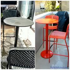 Wrought Iron Cafe Set by Patio Bistro Furniture Obsidiansmaze