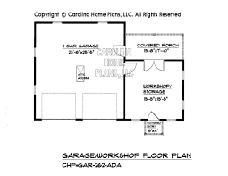 garage floorplans country style garage workshop plan gar 262 ad sq ft small budget