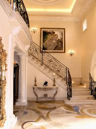 Staircase Wall Decorating Ideas Staircase Wall Decoration Ideas Entry Traditional With Console